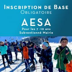 Inscription AESA Hiver (Ski...