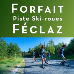 Forfait piste ski roues...