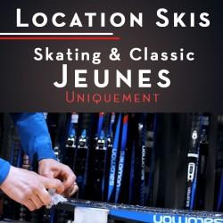 Location de Skis - Jeunes...